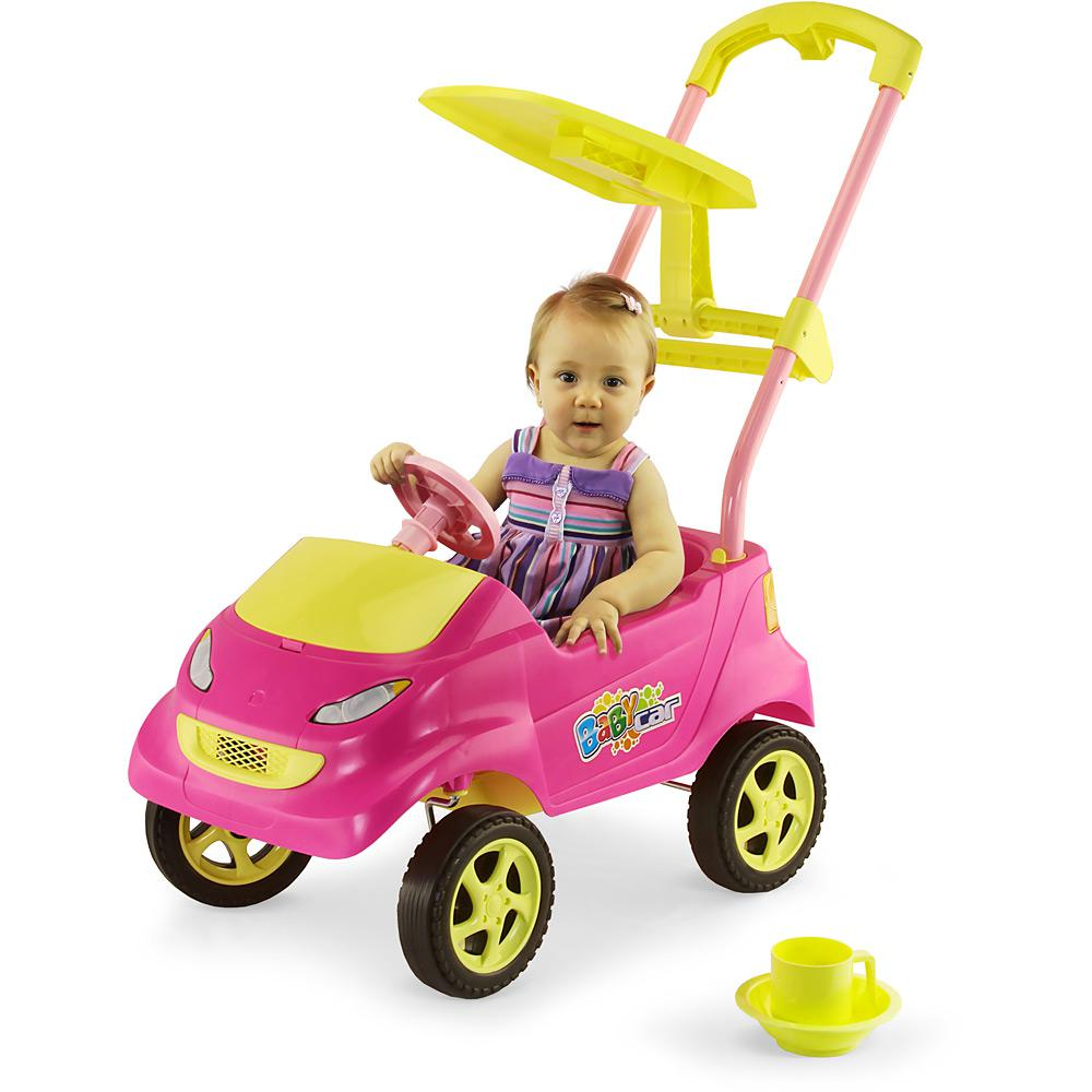 Baby car pink homeplay bom vale a pena for Homeplay