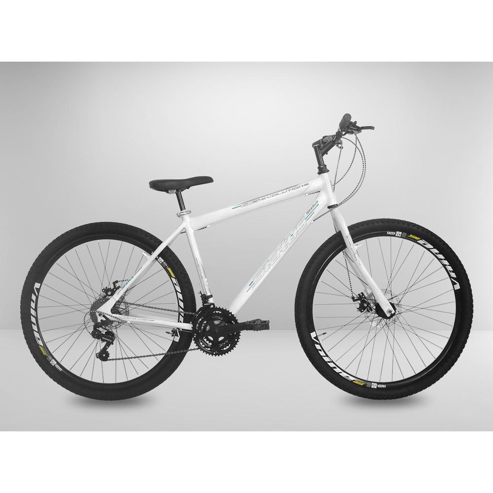 22373f758 Bicicleta Branca 29 Status Kit Shimano 21v Freio A Disco é bom  Vale a pena