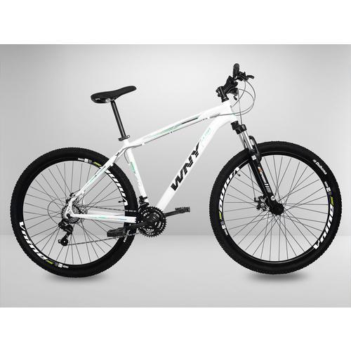 39e1a6db8 Bicicleta Branca Aro 29 Wny 21v Disco Kit Shimano Quadro 19 é bom  Vale a  pena