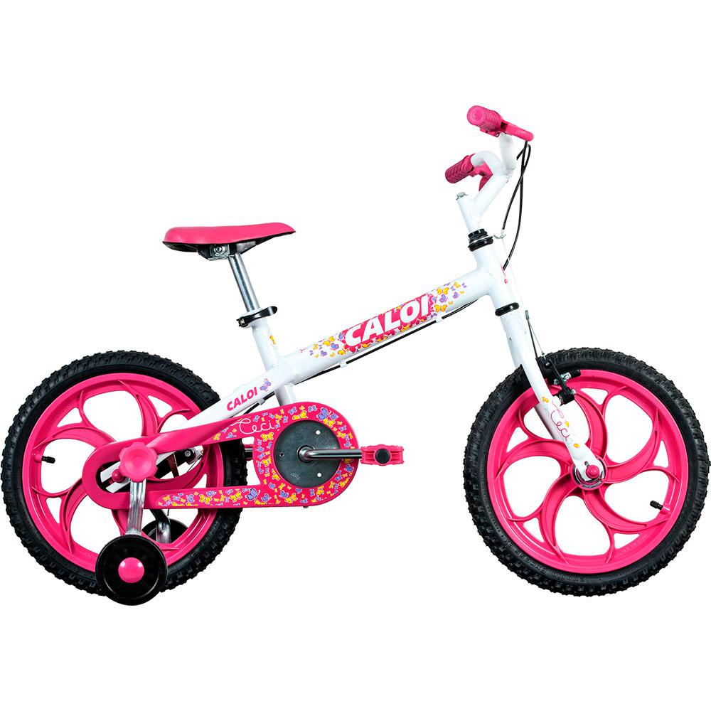 bc60f3942 → Bicicleta Caloi Ceci Aro 16 Branca é bom  Vale a pena