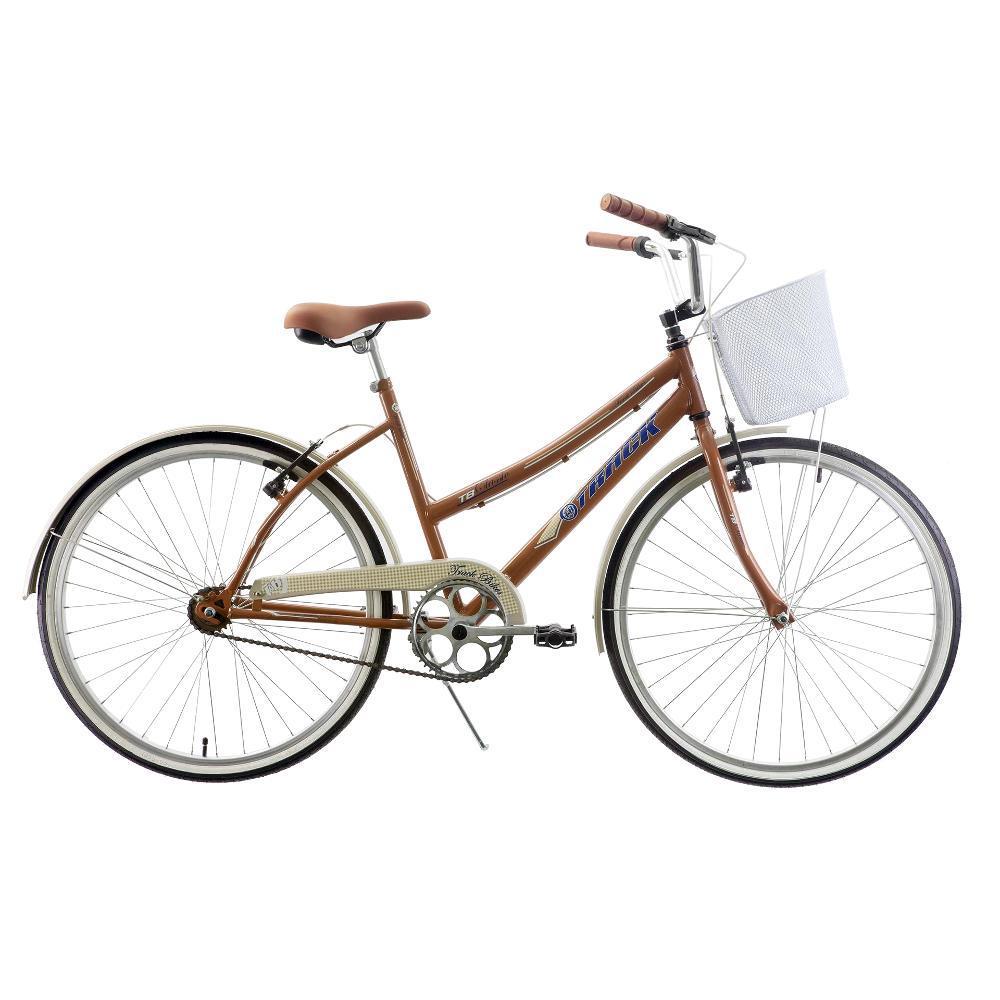 a6e62516c Bicicleta Comfort Classic Plus Aro 26 Marrom - Track Bikes é bom  Vale a  pena
