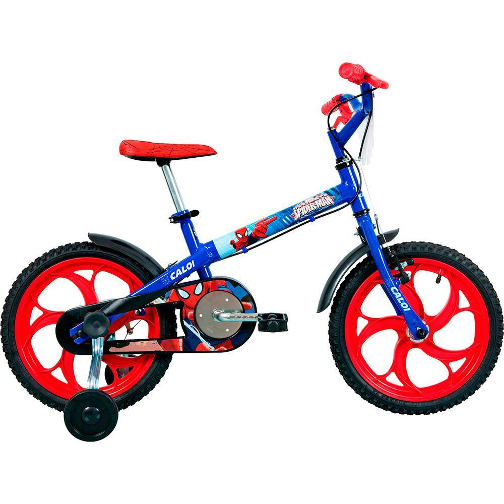 5643d1f81 → Bicicleta Infantil Caloi Spider Man Aro 16 é bom  Vale a pena