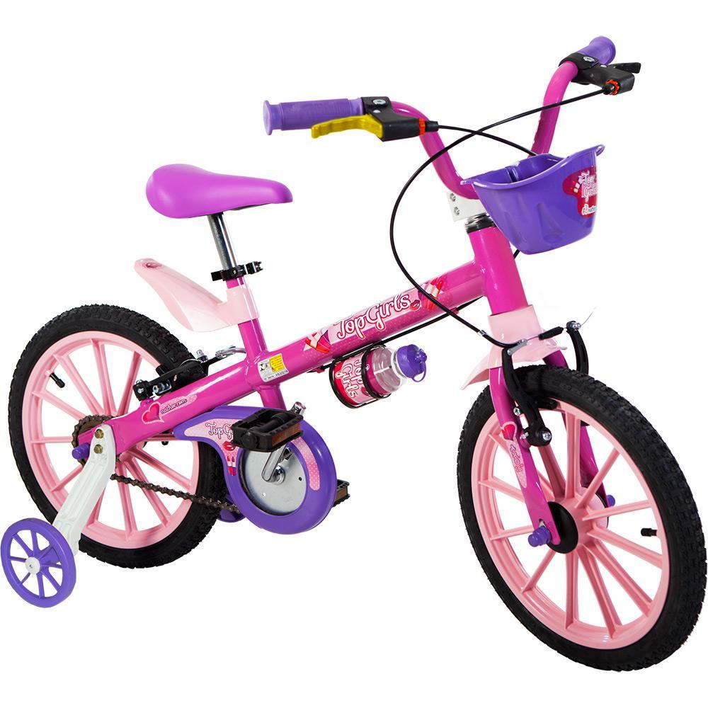 ca00647c5 → Bicicleta Infantil Nathor Top Girls Aro 16 é bom  Vale a pena
