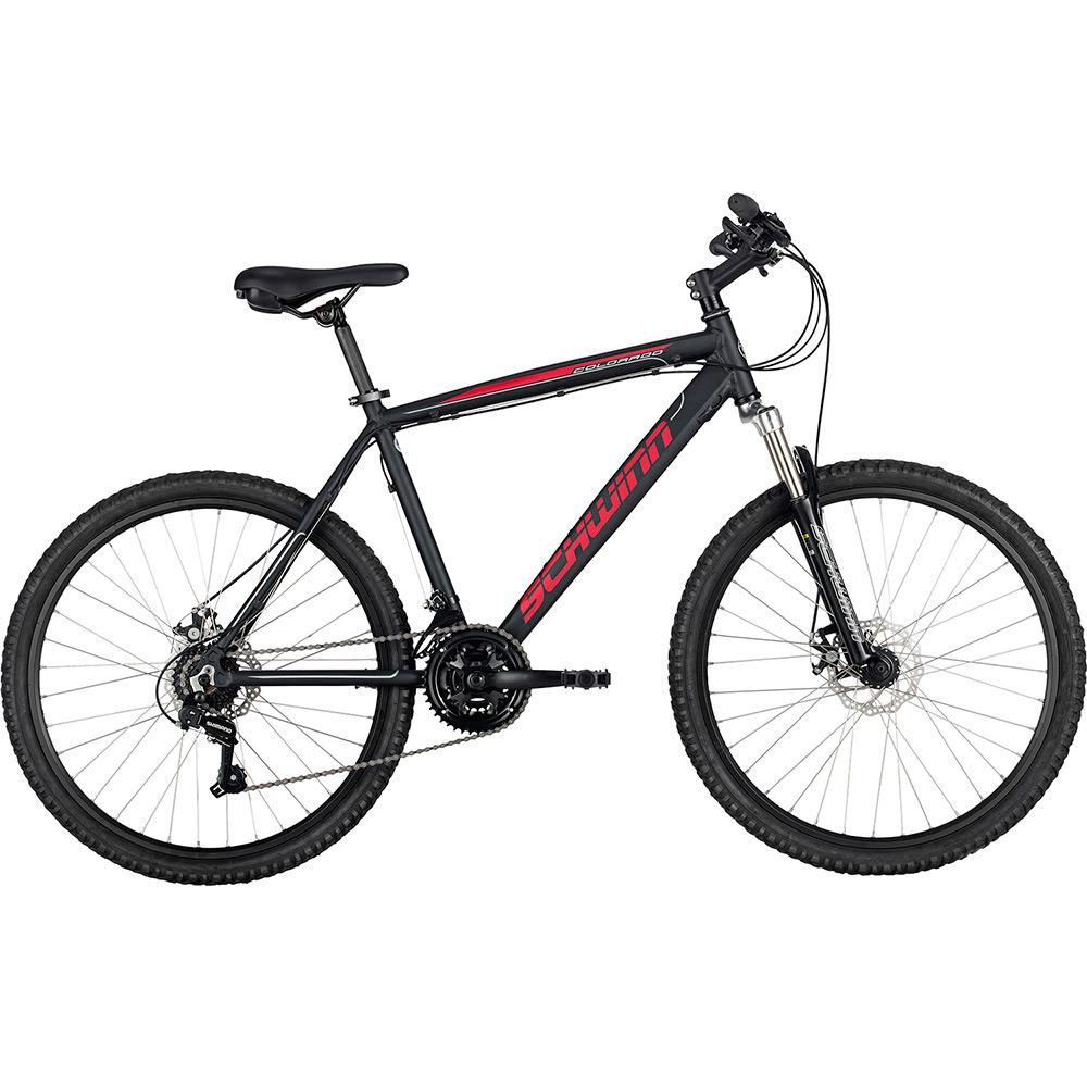 a1df575fa Bicicleta Schwinn Colorado Aro 26 21 Marchas MTB - Preto é bom  Vale a pena