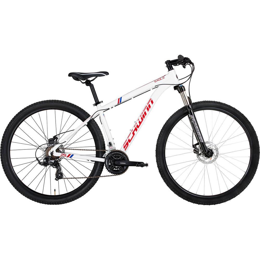 d93533613 Bicicleta Schwinn Eagle Aro 29 21 Marchas MTB - Branco é bom  Vale a pena