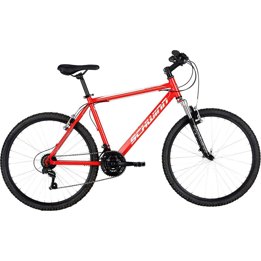 6fd018bc3 Bicicleta Schwinn Mountain Aro 26 21 Marchas - Vermelho é bom  Vale a pena