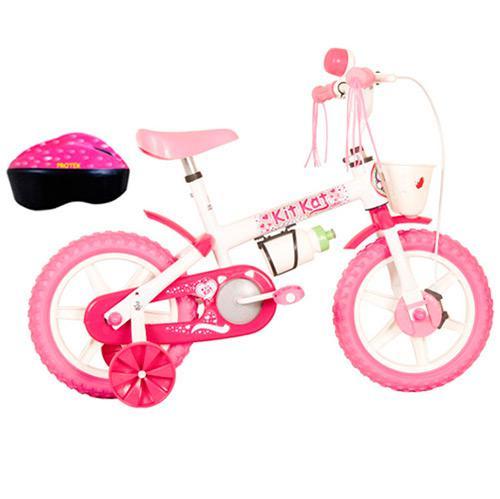 77b654ff4 Bicicleta TK3 Kit Kat com Acessórios Feminino Aro 12