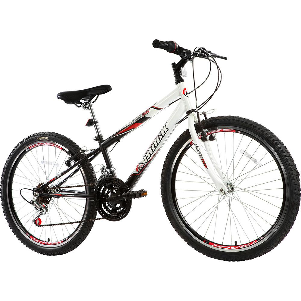 699ceffe7 → Bicicleta Track Axess Aro 24 18 Aço Marchas - Branco Preto é bom ...