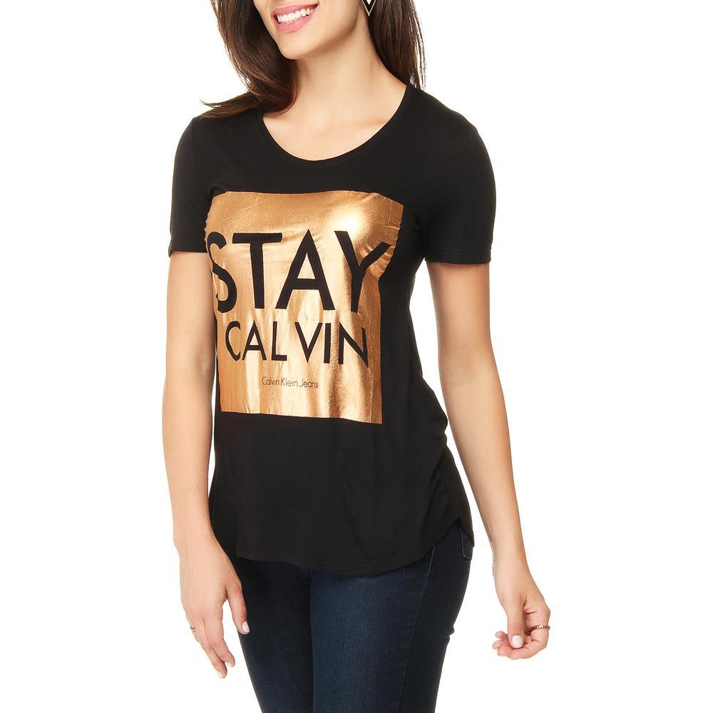 2231894ec → Blusa Manga Curta Calvin Klein Jeans Stay é bom? Vale a pena?