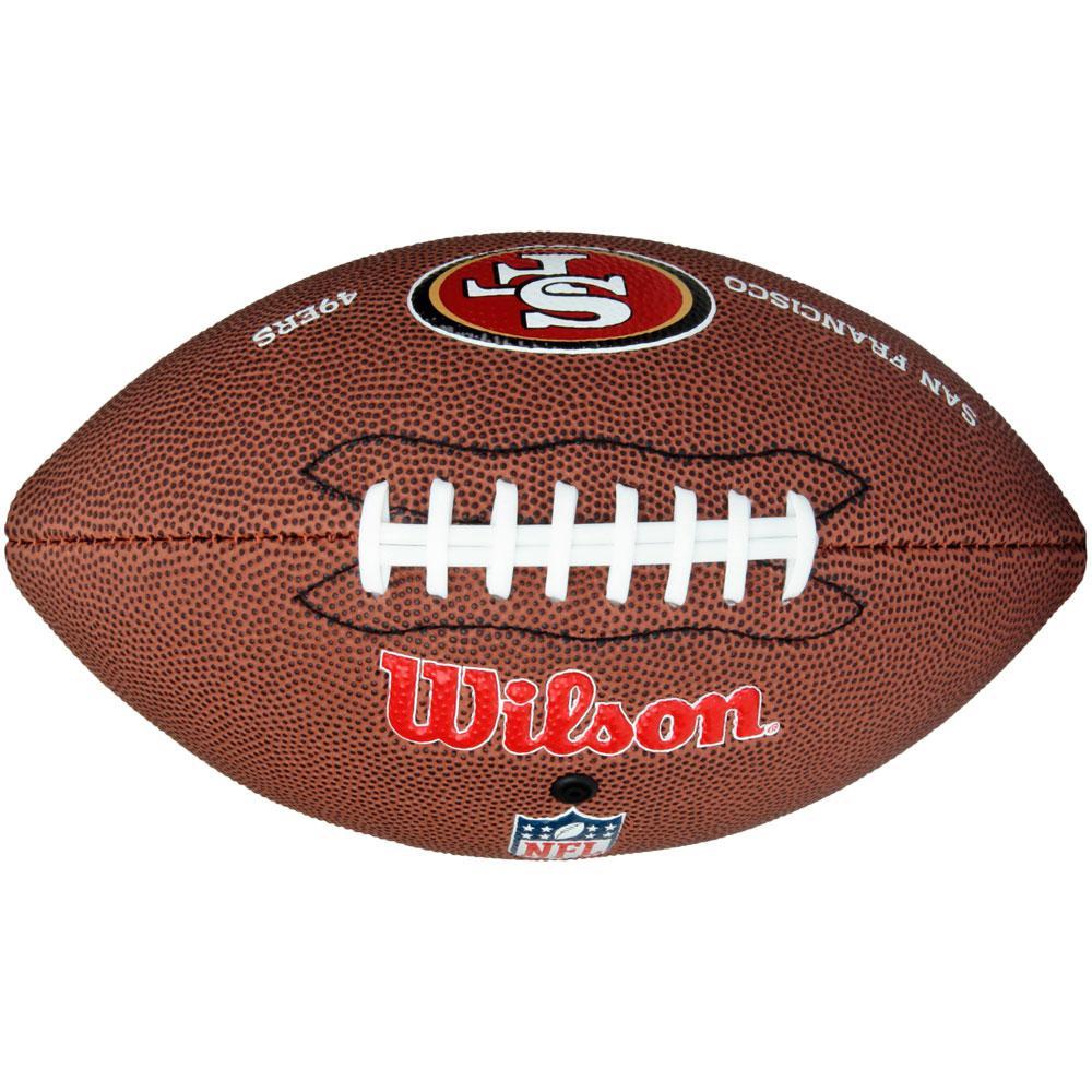 Bola De Futebol Americano Wilson Nfl Team Logo San Francisco Jr é bom  Vale  a pena  e89314867cfff