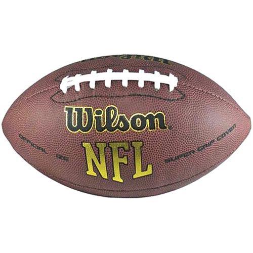 Bola De Futebol Americano Wilson - Super Grip Oficial é bom  Vale a pena  b3f9f861cf9e2