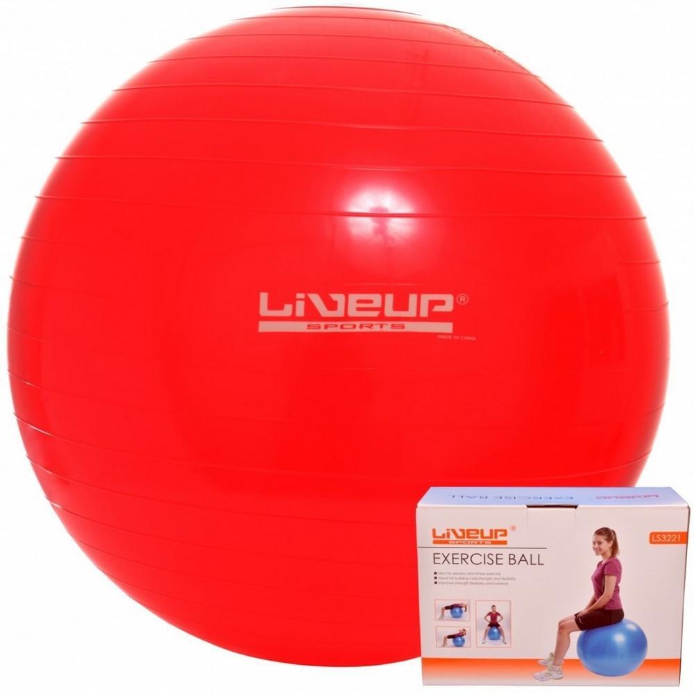 3ef11a565cae2 Bola Suíça Para Pilates 45cm Live Up Grátis Bomba Inflar é bom  Vale a pena