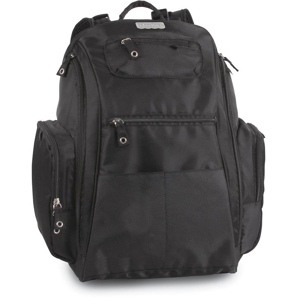 ecb5e7396 Bolsa Baby Bag G Sport Backpack Preto - Fisher Price é bom? Vale a pena