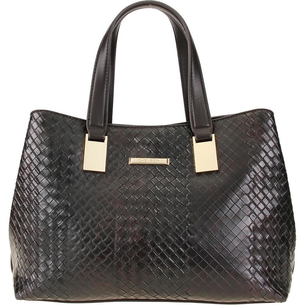 e81b757ff → Bolsa Tote Chenson Com Textura【É BOM? VALE A PENA?】