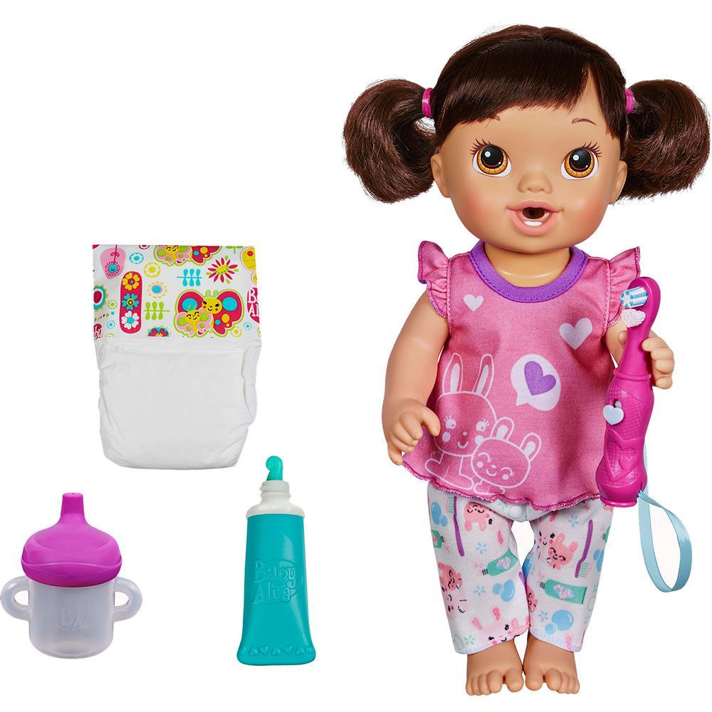 43bd44619a → Boneca Baby Alive Bons Sonhos Morena - Hasbro é bom  Vale a pena