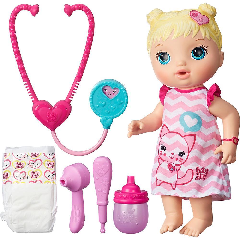 b700abaf82 → Boneca Baby Alive Cuida de Mim Loira - Hasbro é bom  Vale a pena