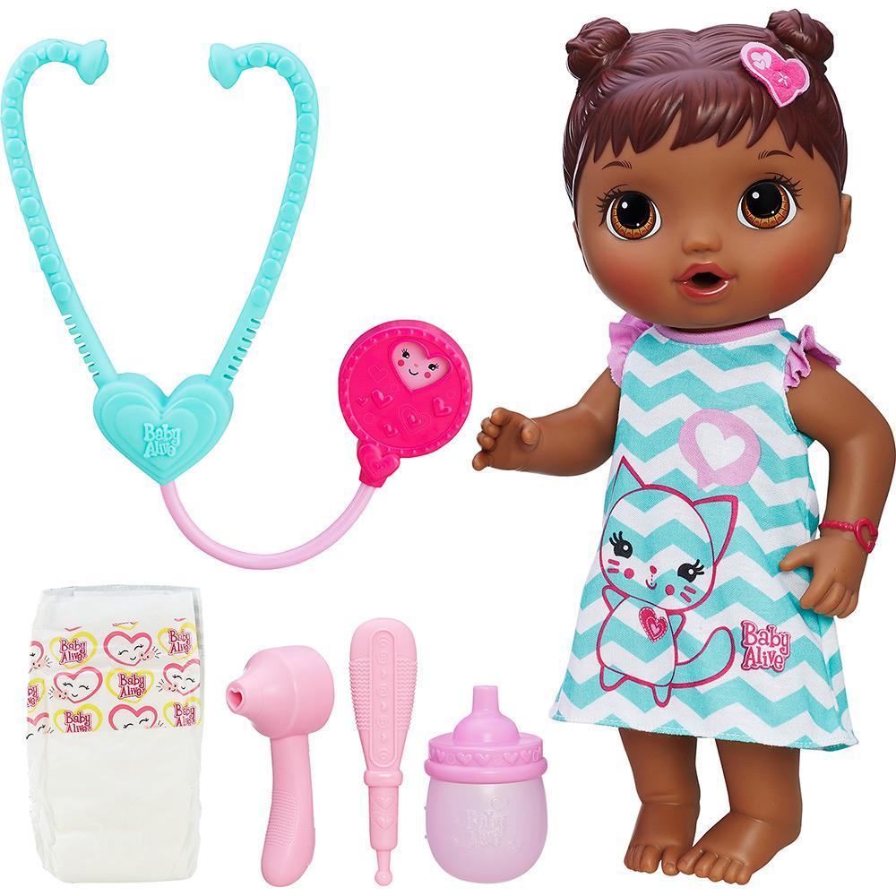 7165d39e8e Boneca Baby Alive Cuida de Mim Negra - Hasbro é bom  Vale a pena