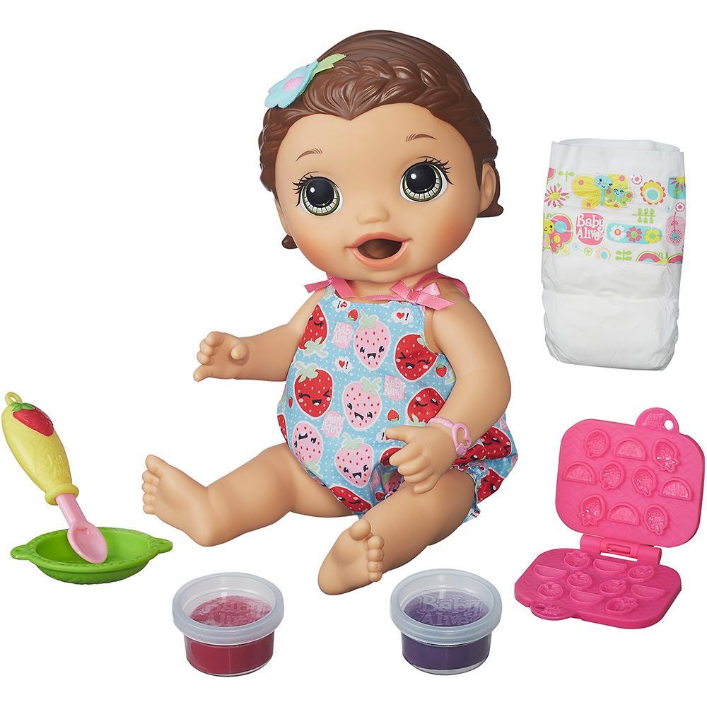fafaaf3b1 → Boneca Baby Alive Lanchinho Morena - Hasbro é bom  Vale a pena