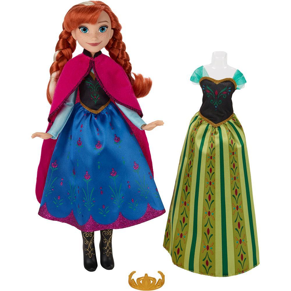 d98473de1e → Boneca Frozen Vestidos Reais Anna - Hasbro é bom  Vale a pena