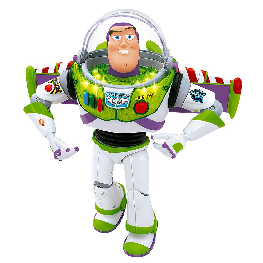 Boneco Buzz Lightyear Toy Story Fala 21 Frases Em Português