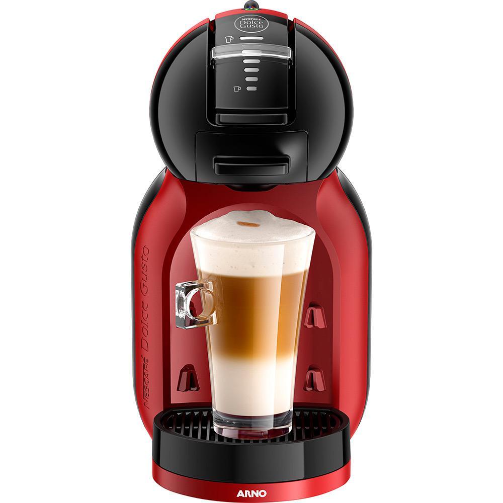 32b638fd6 Cafeteira Expresso Nescafé Dolce Gusto Mini Me Arno Preta Vermelha 15 Bar é  bom  Vale a pena