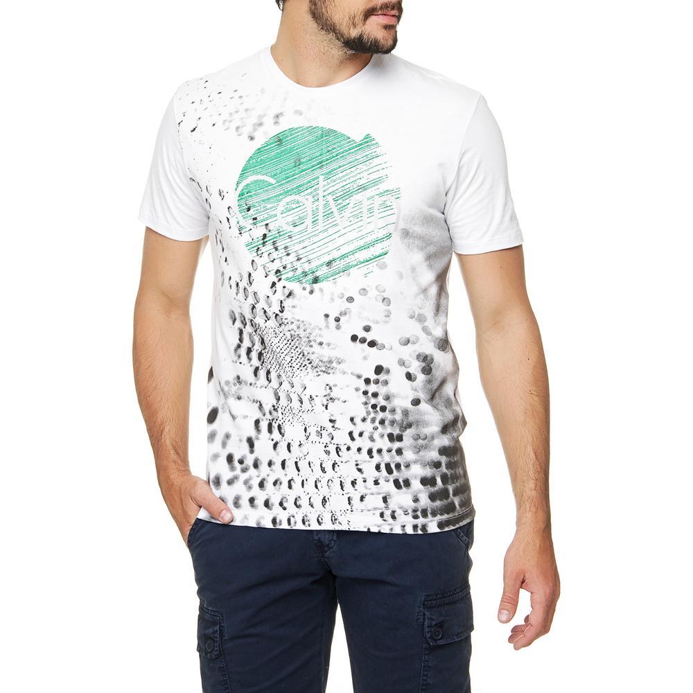 2dff112b74 → Camiseta Calvin Klein Jeans Estampa Logo é bom  Vale a pena