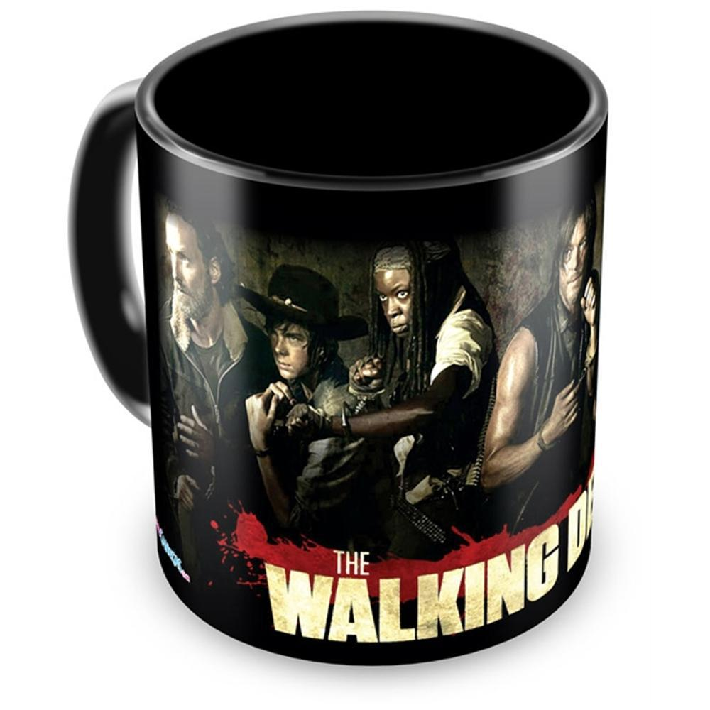 5a60b36ec Caneca Personalizada Porcelana The Walking Dead (Mod.6) é bom  Vale a pena