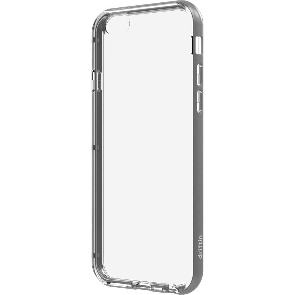 4737c62c6 Capa para iPhone 6 Plus em Acrílico e TPU Cinza com Película Fosca -  Driftin é