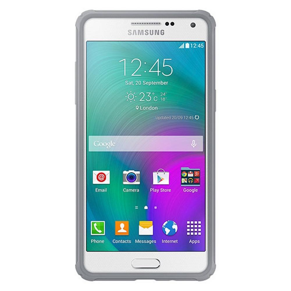 c36404d6fa4 Capa Protetora Protective Samsung Galaxy A5 Original Branco Cinza é bom   Vale a pena