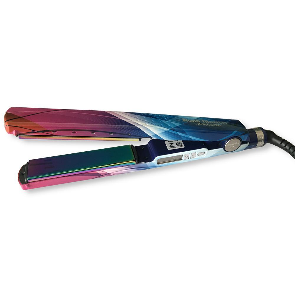 cf062c279 Chapinha Prancha Nano Titanium Babyliss Pro Prismatic Color 1 + 1/4 230°C