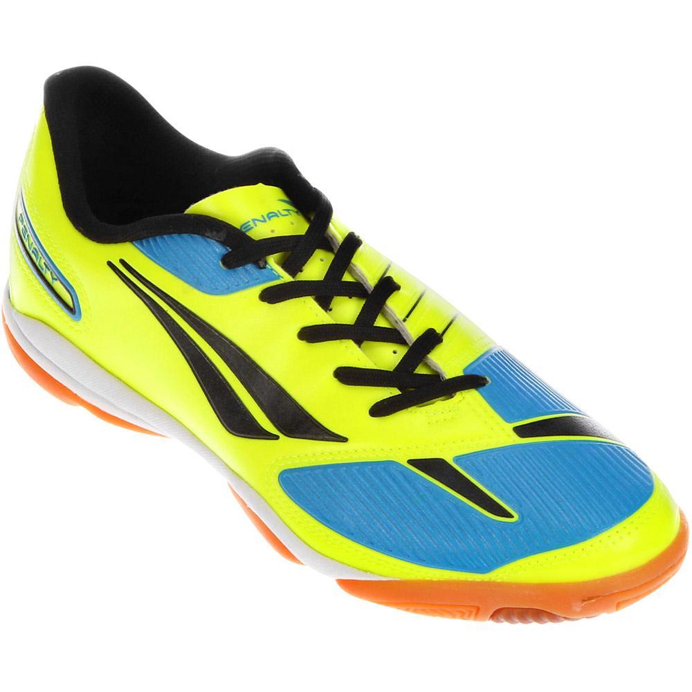 Chuteira Futsal Digital Amarelo Celeste Preto Amador é bom  Vale a pena  9093b8bbb3ef1