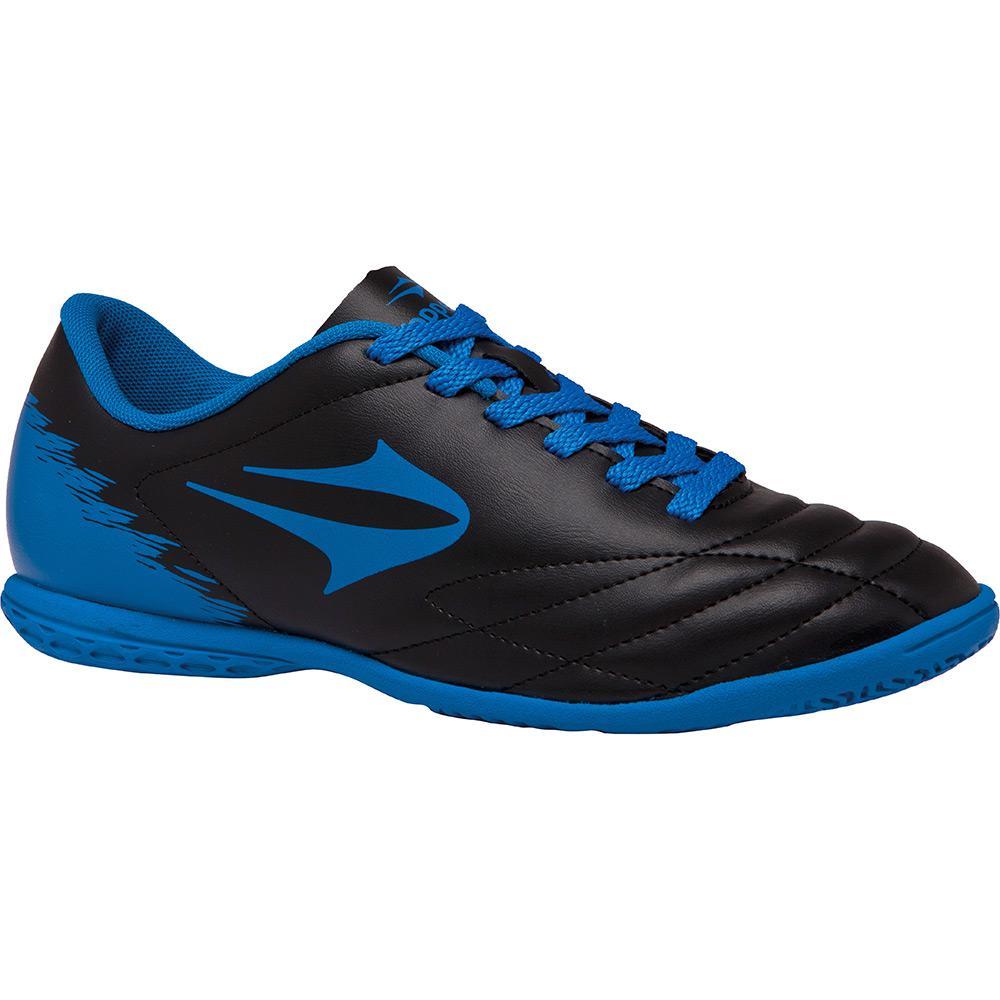 → Chuteira Topper Indoor Slick II Preto Azul é bom  Vale a pena  cbb1a00e7ee1f