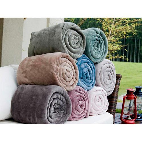 2e4138d2de → Cobertor Solteiro Blanket Flannel Kacyumara é bom  Vale a pena