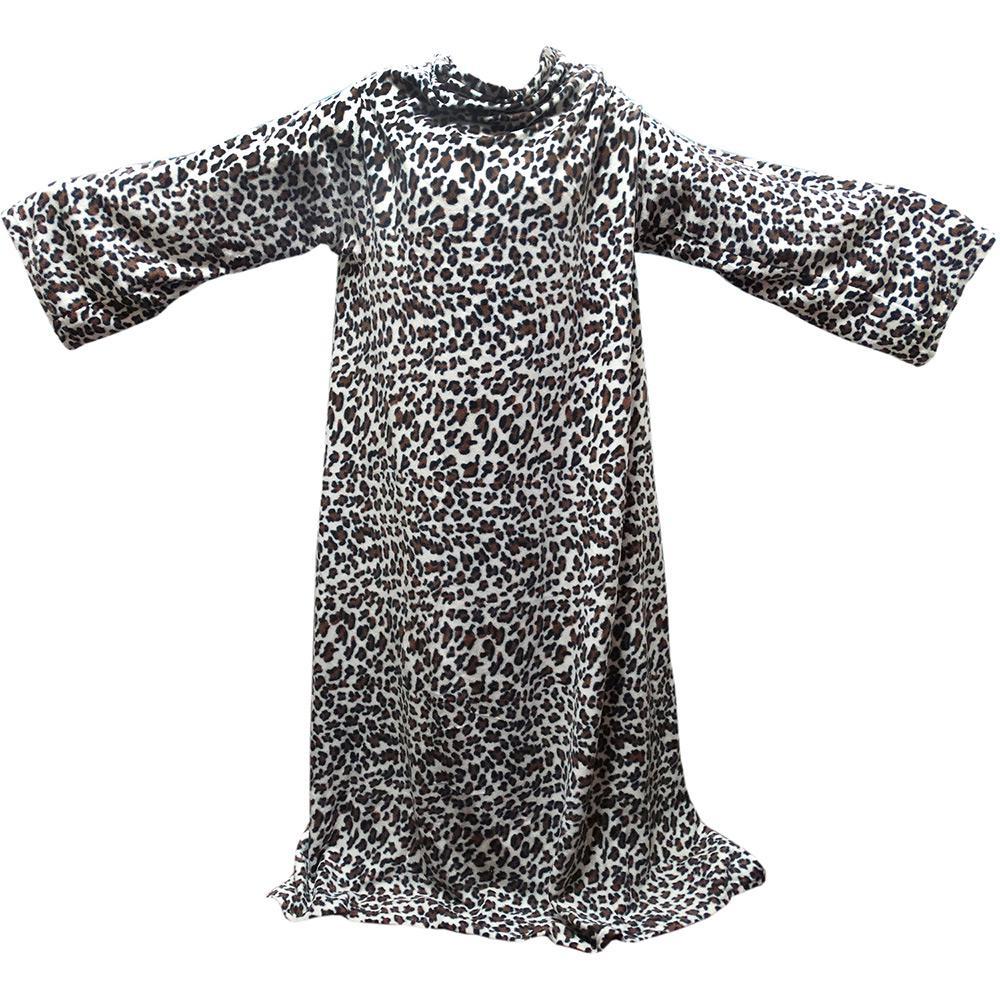 5624e9992d → Cobertor Solteiro com Mangas TV Leopardo - Loani é bom  Vale a pena