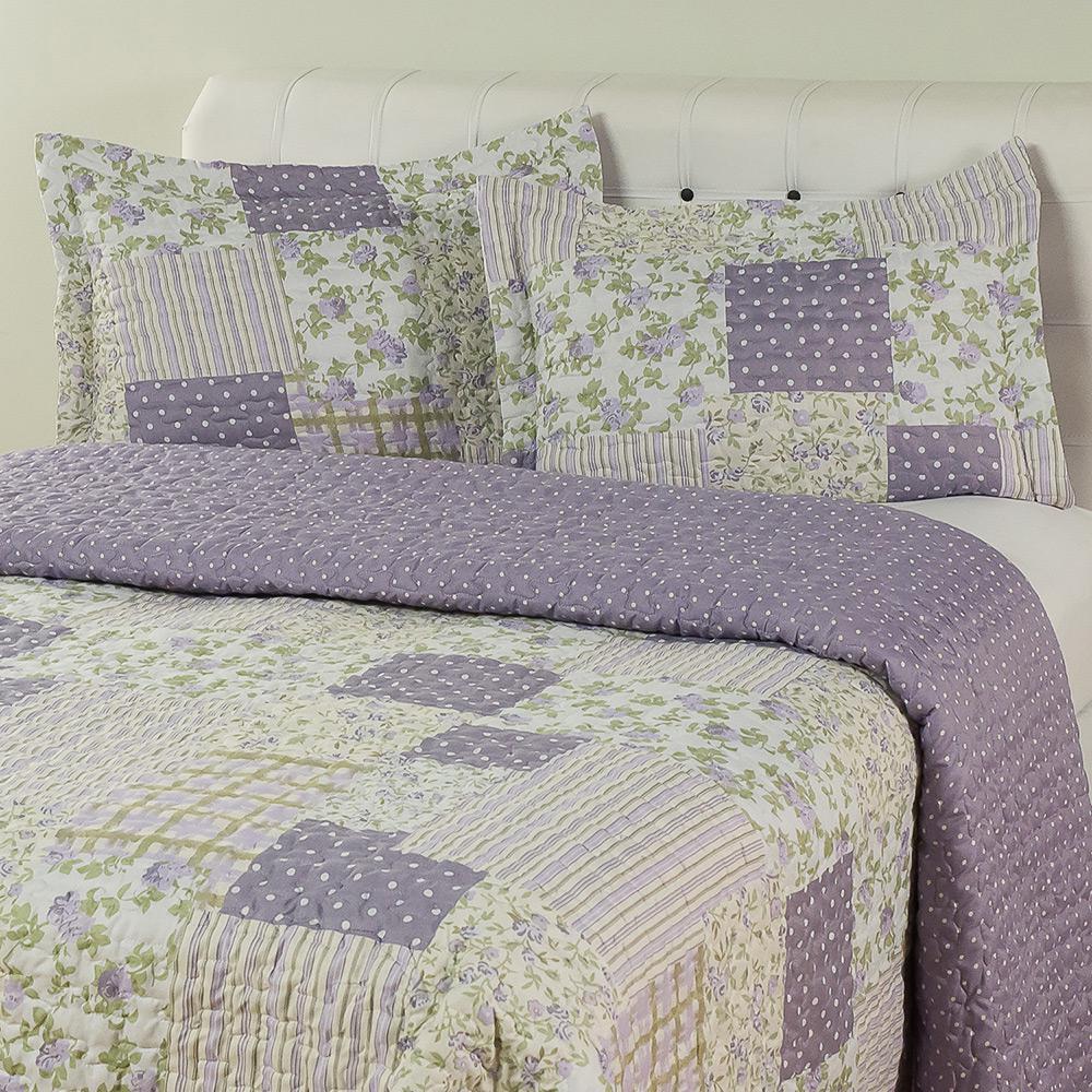 304485497a Colcha Casal Boutis Jasmine com 2 Porta-Travesseiros - Casa   Conforto é  bom