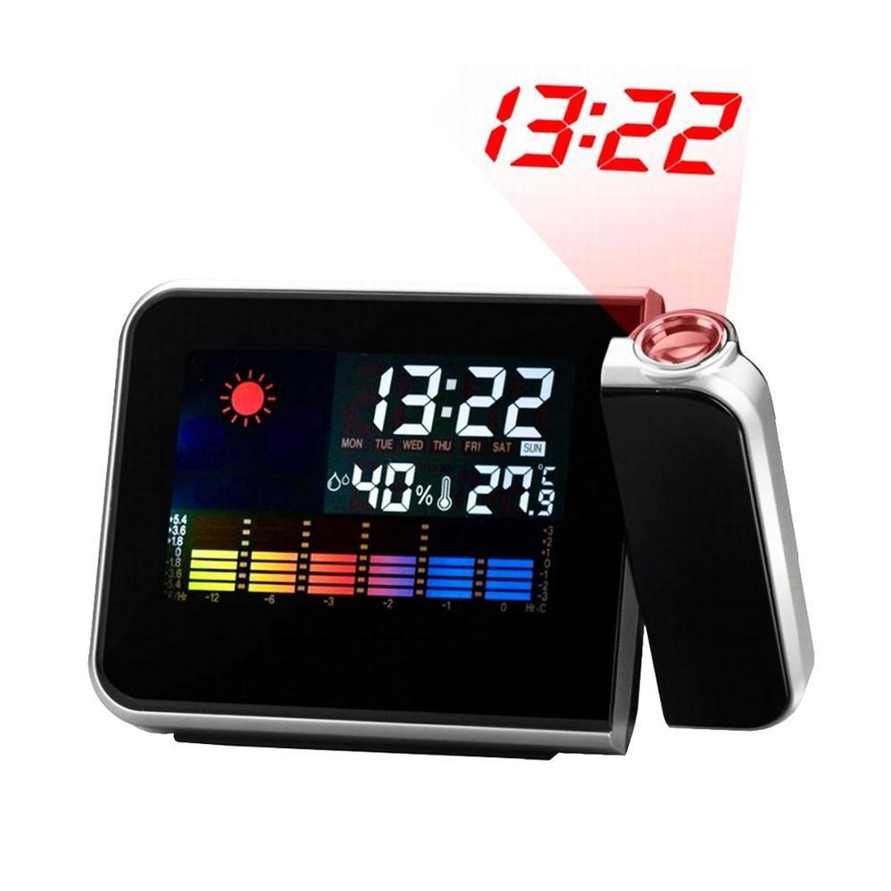 883ee35227b Despertador Digital Com Projetor De Horas Prata Ds8190 é bom  Vale a pena
