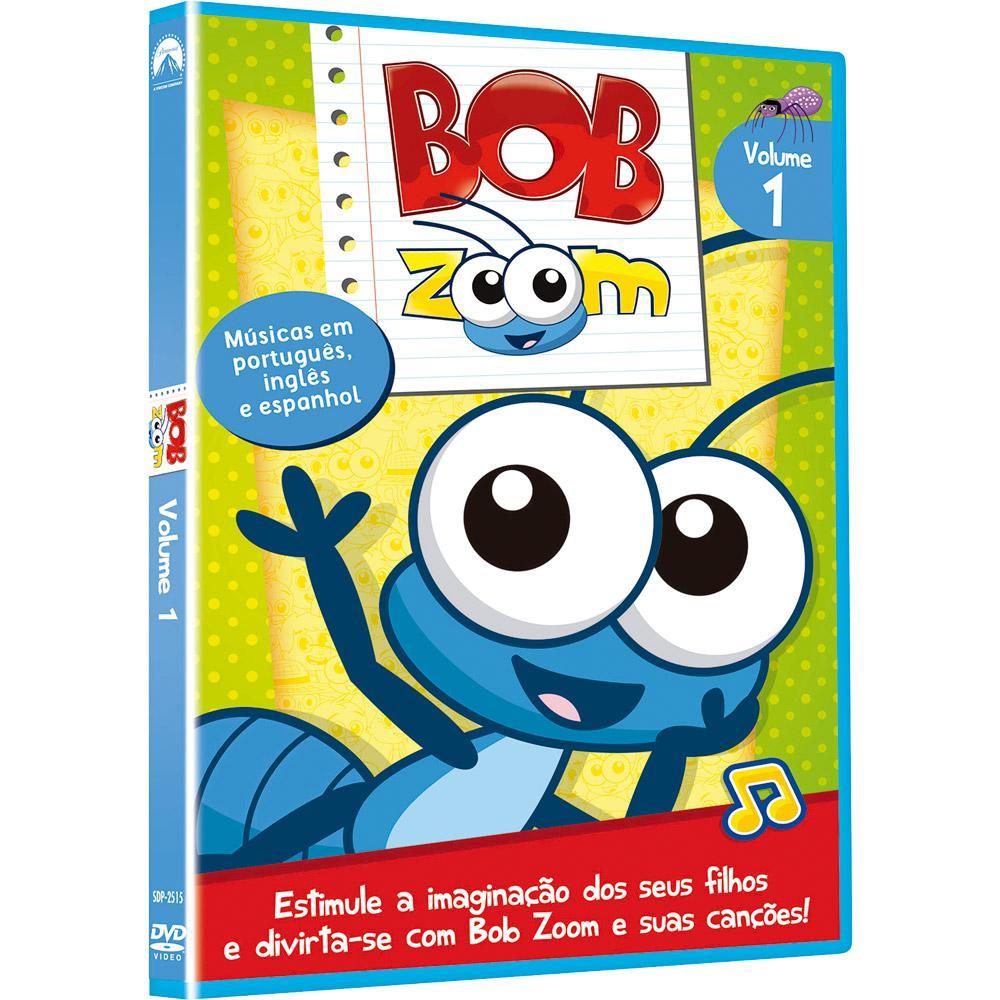 daa842e968 → DVD - Bob Zoom  Vol.1 é bom  Vale a pena
