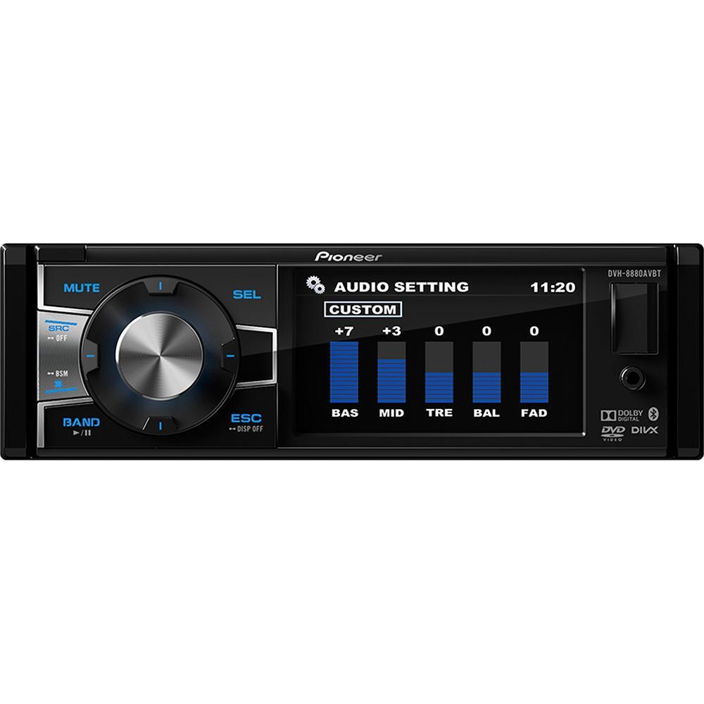 6fdbbec288023 → DVD Player Automotivo Pioneer DVH-8880AVBT Tela 3