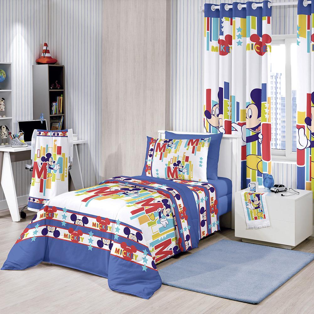 82a1856034 → Edredom Infantil Disney Mickey Hide Azul - Santista é bom  Vale a ...