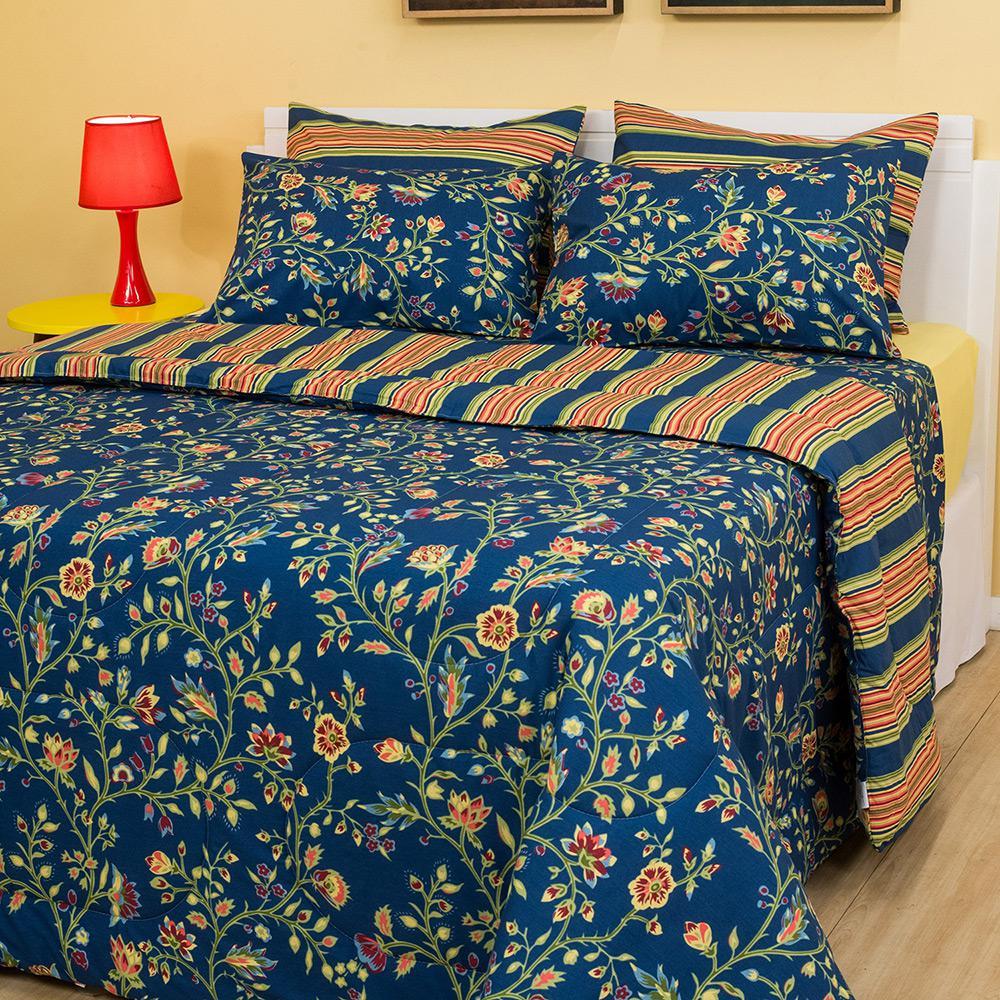 cc7b36af11 Enxoval Cama Queen Seville 7 Peças - Casa   Conforto é bom  Vale a pena