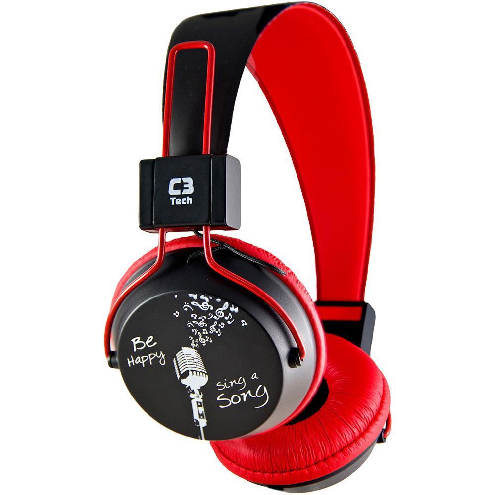 Fone De Ouvido C3t Stereo Multimdia Mi 2358rr Preto Vermelho Earphone Pioneer Se Original Bom Vale A Pena