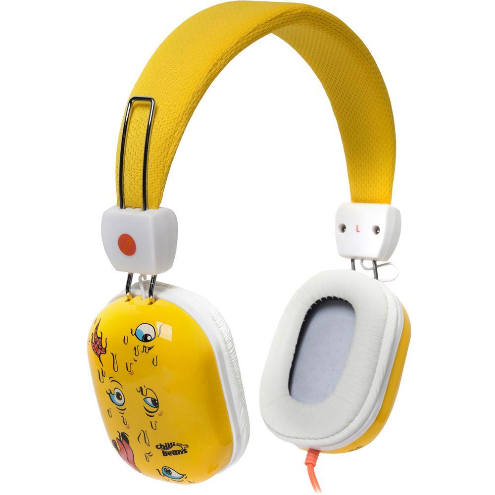 0e99df0c9 Fone de Ouvido Chilli Beans Supra Auricular Amarelo e Branco HIPSTER  TM-612MV/1-2 é bom? Vale a pena?