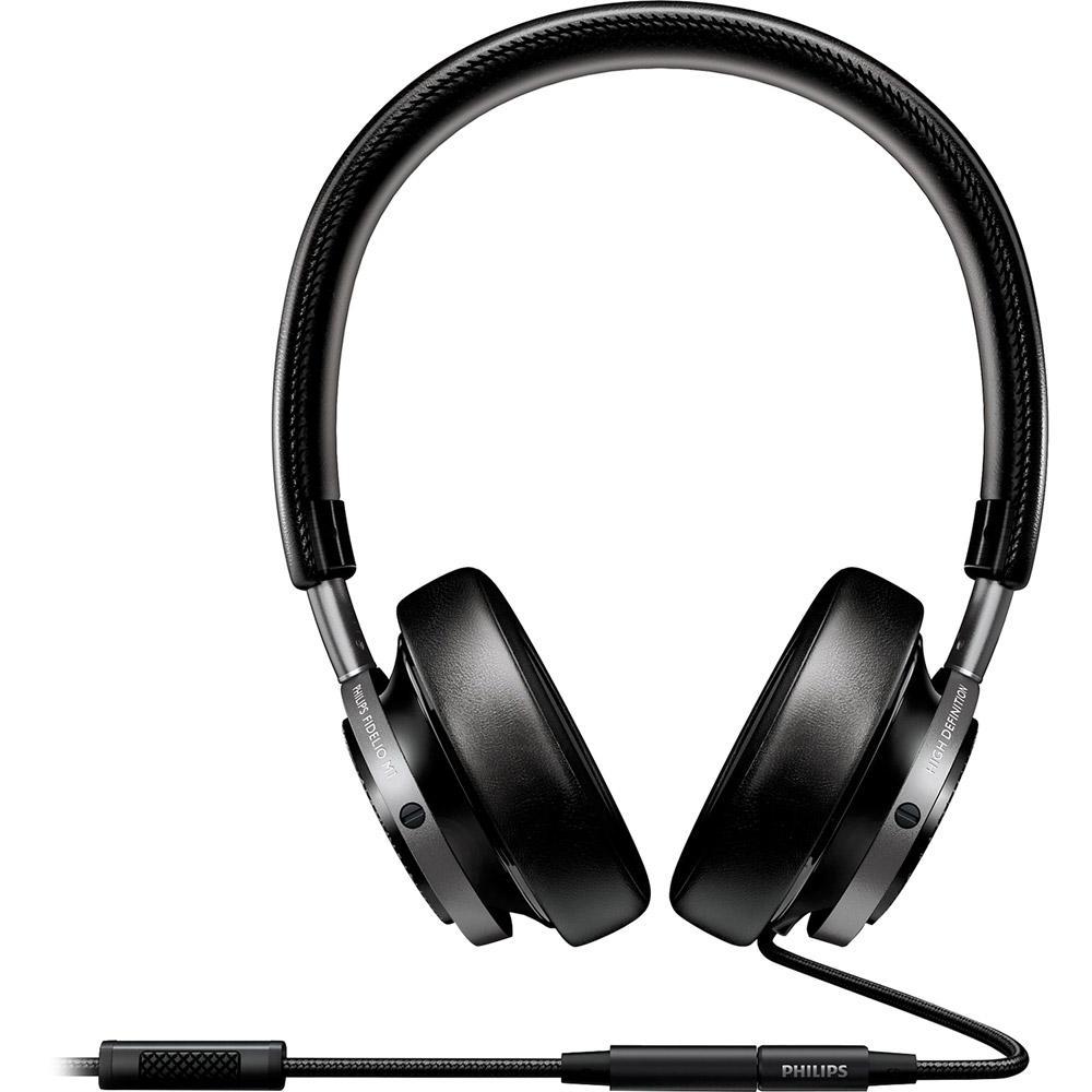 Fone de Ouvido Philips On Ear com Controle Preto - Fidelio M1 é bom  Vale d4b081c33414d