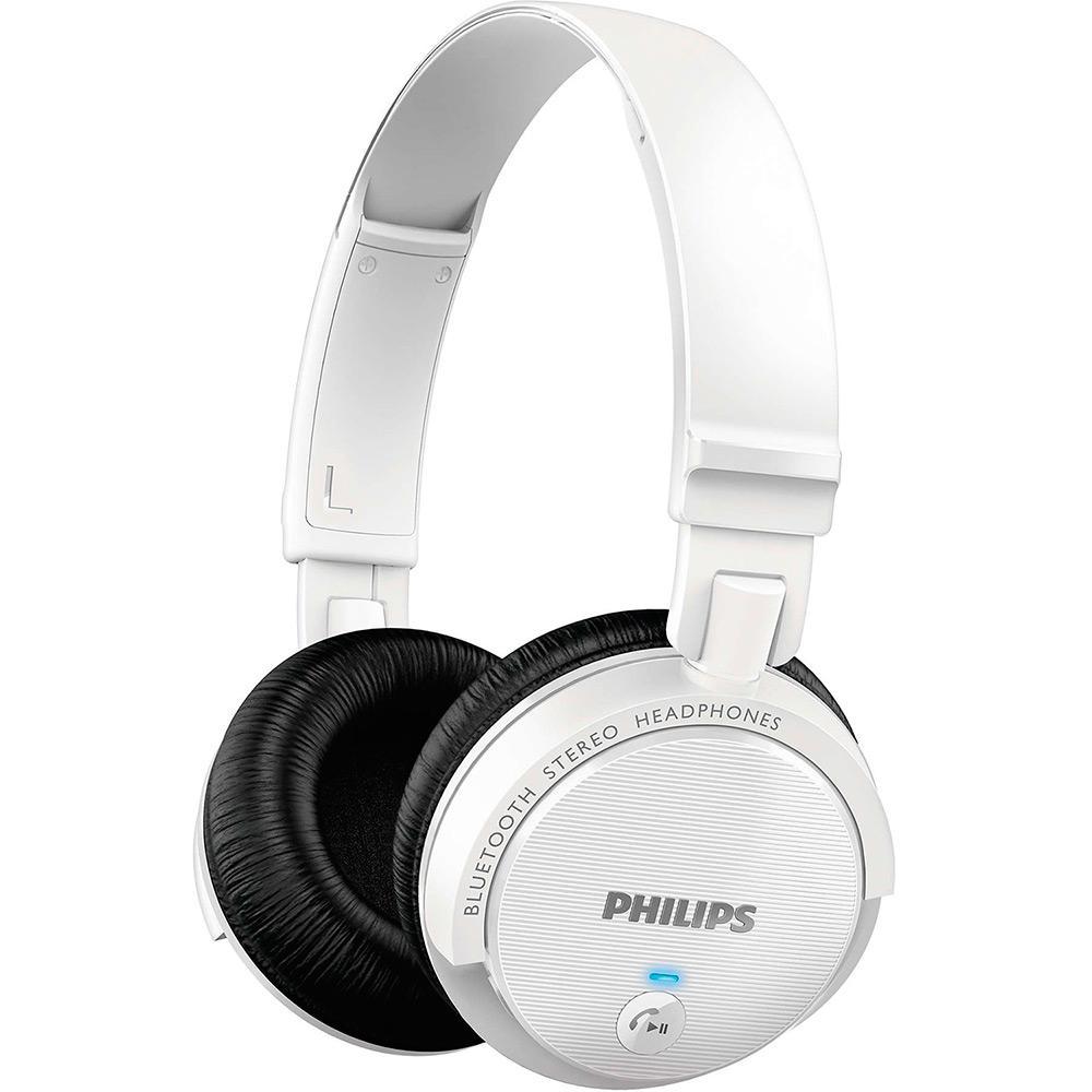 Fone de Ouvido Philips SHB5500WT 00 Over Ear Branco Bluetooth é bom  Vale a  pena  961ba2ecdc4a1