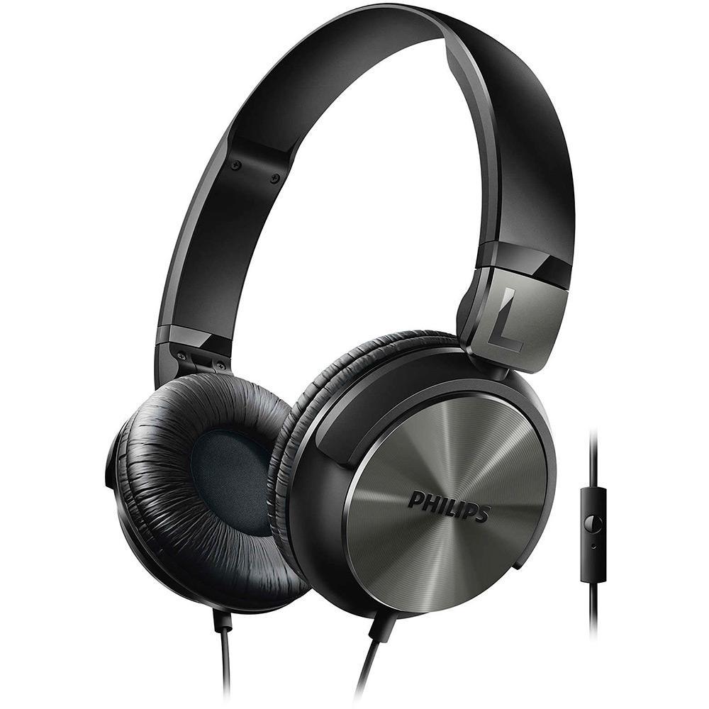 → Fone de Ouvido Philips SHL3165BK 00 Over Ear Preto É BOM  VALE A ... aefaedcbb52a6