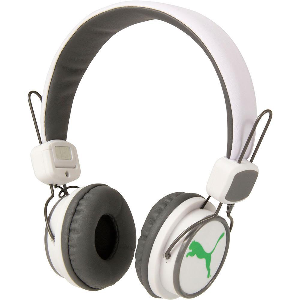 d52392999 Fone de Ouvido Puma The League Over Ear PUF024 Headphone Branco com  Microfone é bom? Vale a pena?