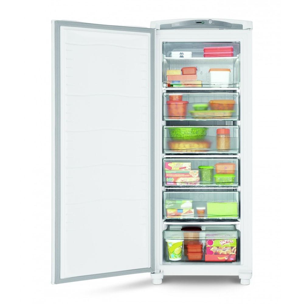 Freezer consul 1 porta vertical 231 litros branco cycle - Temperatura freezer casa ...