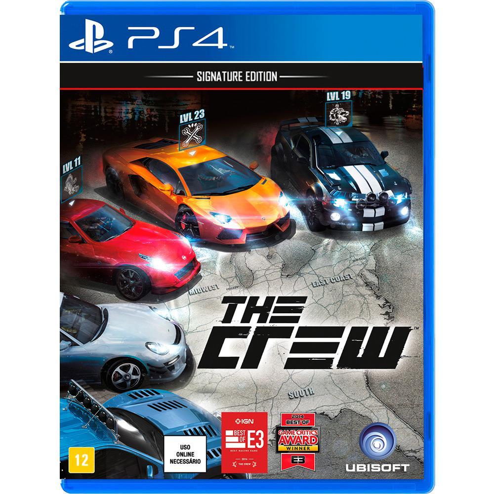 → Game The Crew: Signature Edition - PS4【É BOM? VALE A PENA?】