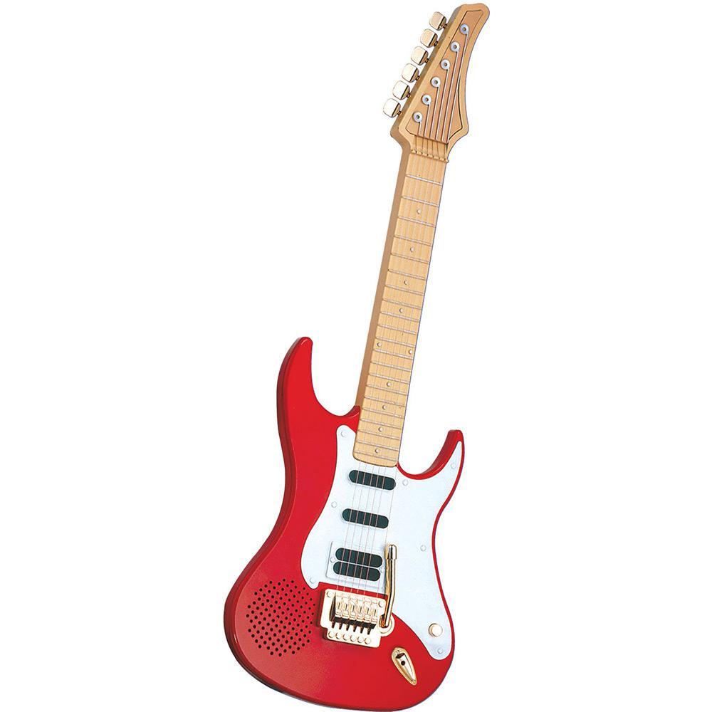 Guitarra Eletronica Dtc Vermelha E Bom Vale A Pena