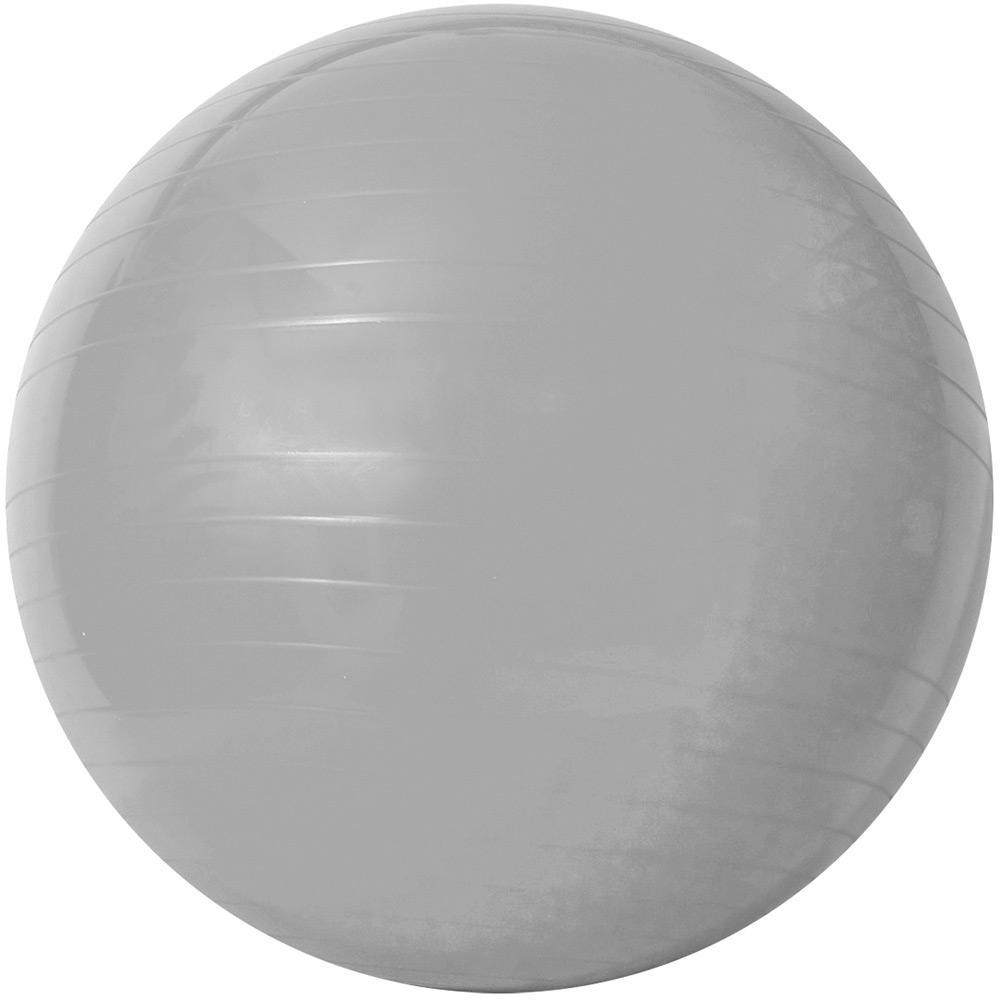 → Gym Ball c  Bomba de Ar 55cm Prata - Acte Sports é bom  Vale a pena  2490ca085ecb1
